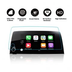 Toughed Tempered Glass Protector for Car Navigation System
