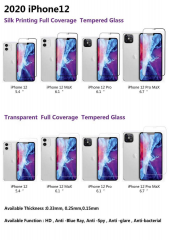2020 iPhone 12 series tempered glass screen protector